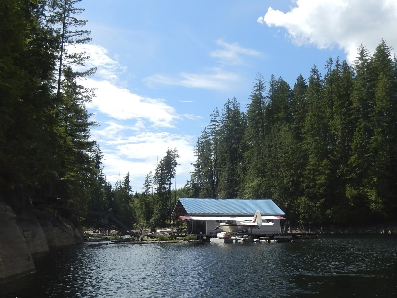 Powell river books blog update float cabins for sale on for Lakes in bc with cabins