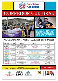 corredor cultural 2015 Ciudad Bolivar  1