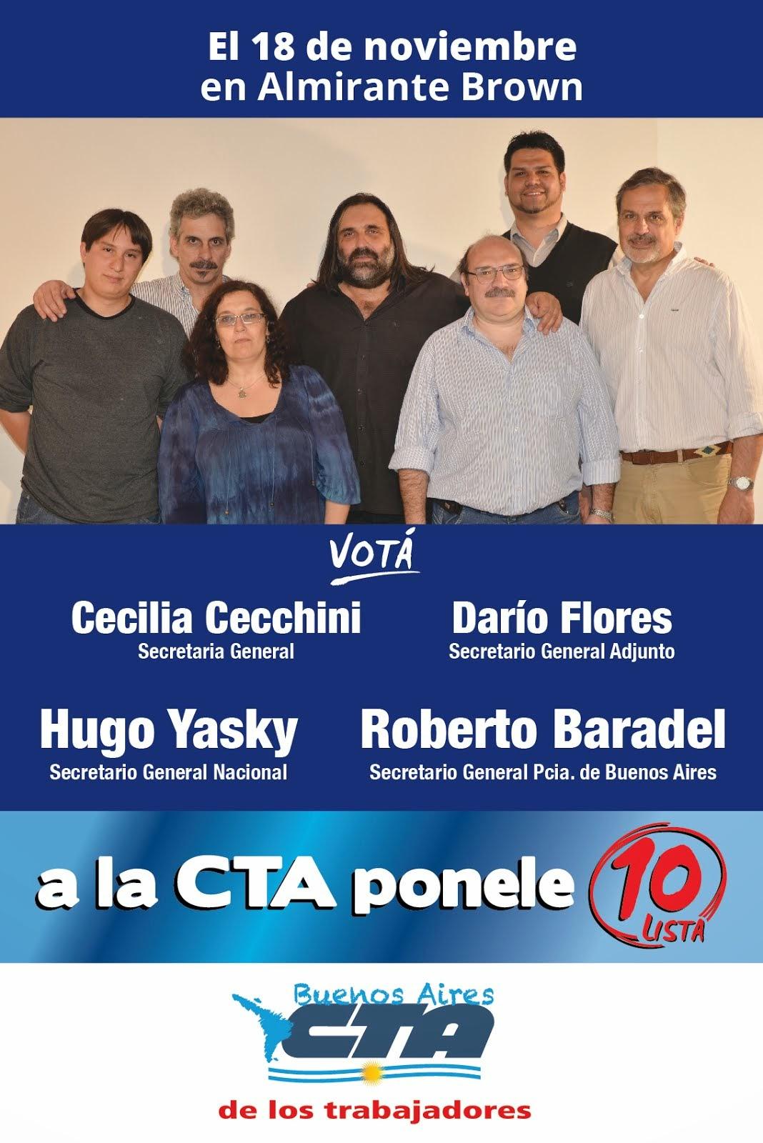 18/11 ELECCIONES DE LA CTA