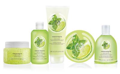 The Body Shop Virgin Mojito Collection