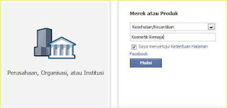 halaman facebook di blog