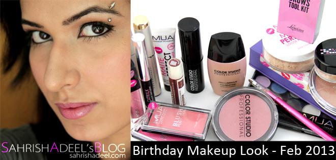 Simple Birthday Makeup Look - February 2013 - Sahrish Adeel - Malaysia Based Pakistani Beauty ...