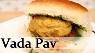 Vada Pav – Potato Dumplings With Bread – By Ruchi Bharani