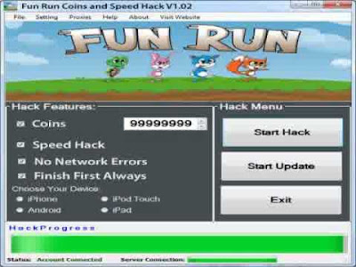 Fun Run Hack Tool [FREE Download] 2013