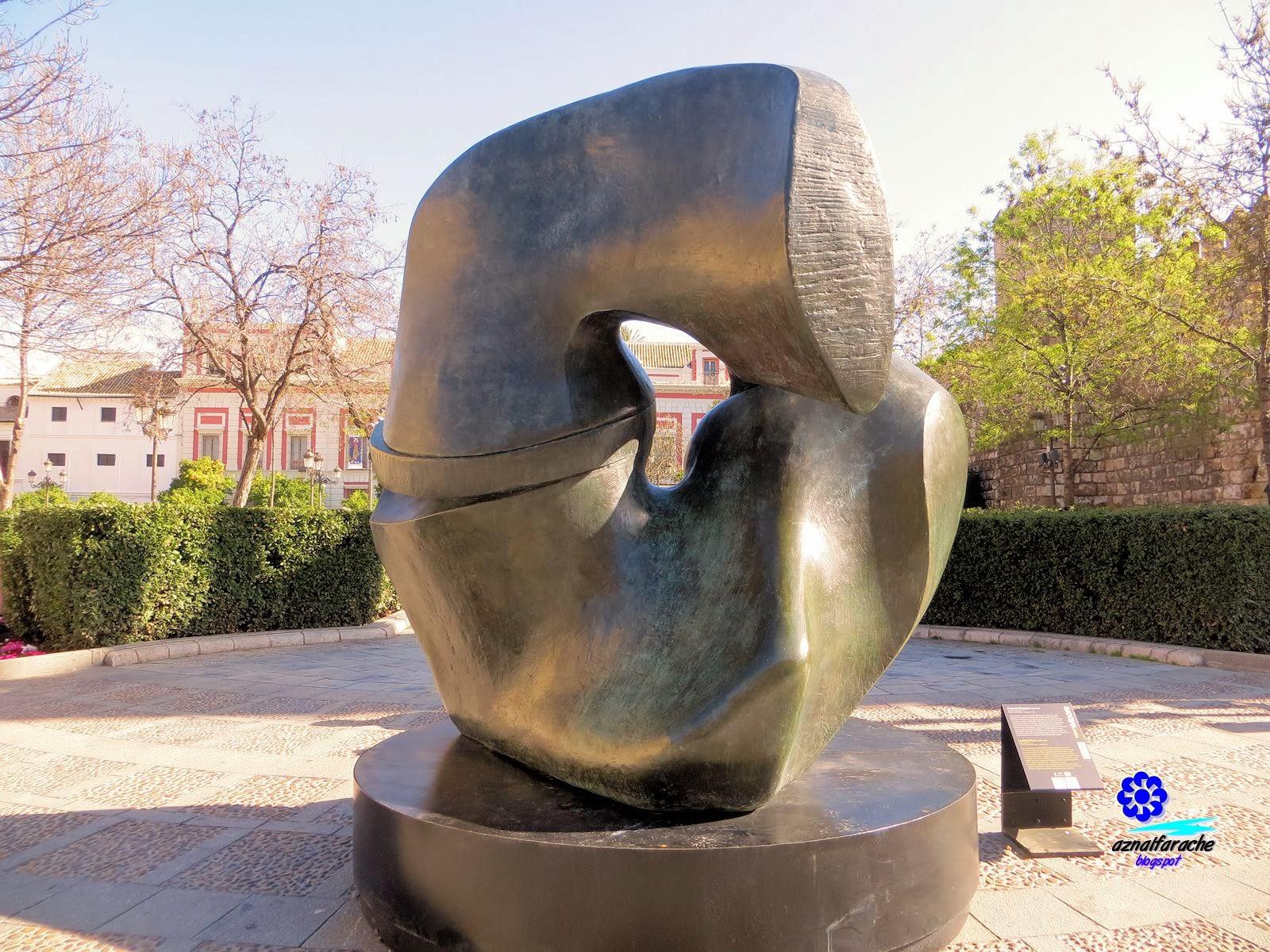 Pieza de bloqueo - Henry Moore - 1963/64