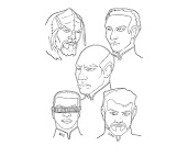 #2 Star Trek Coloring Page