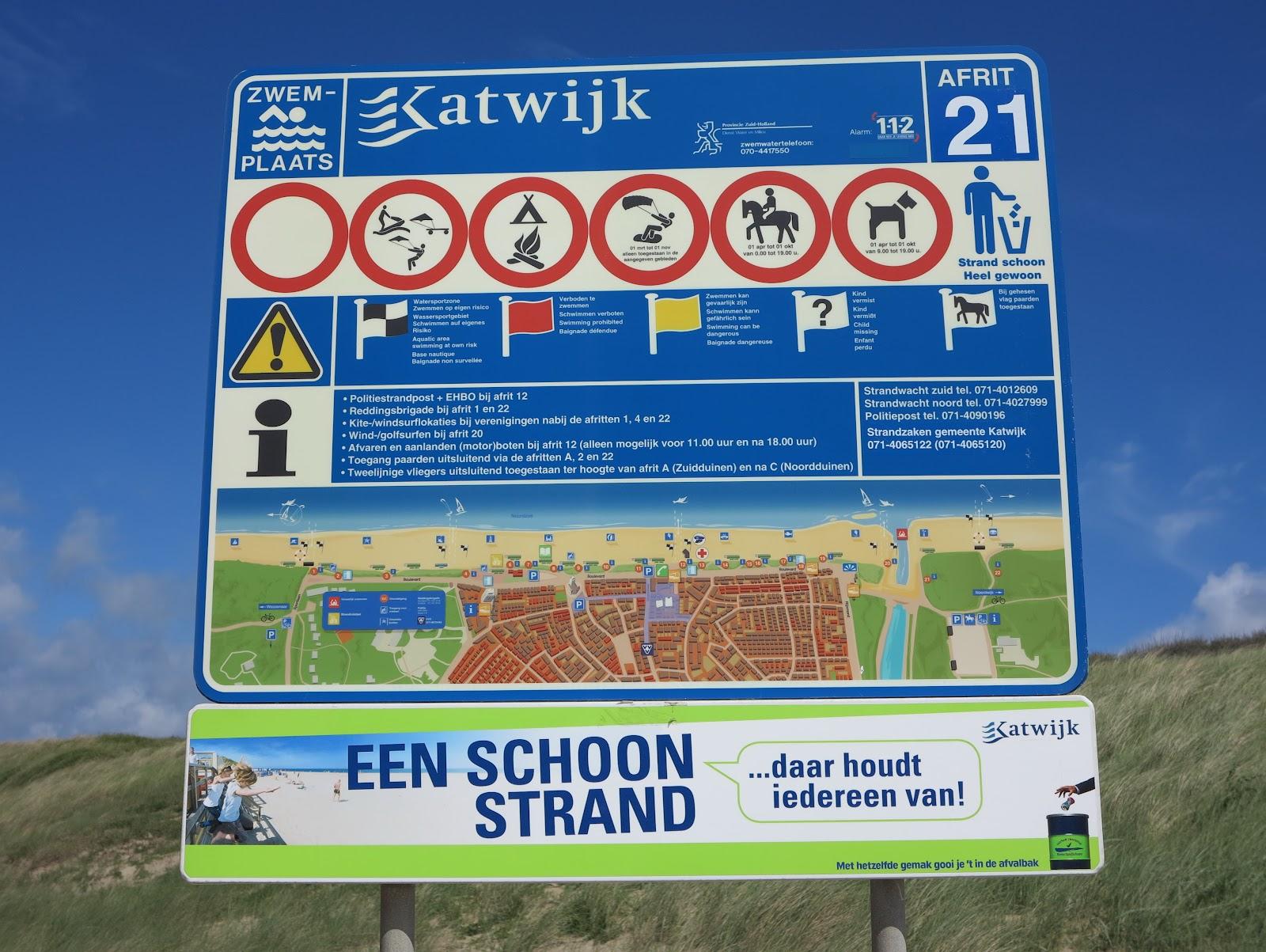 Strandregels Katwijk