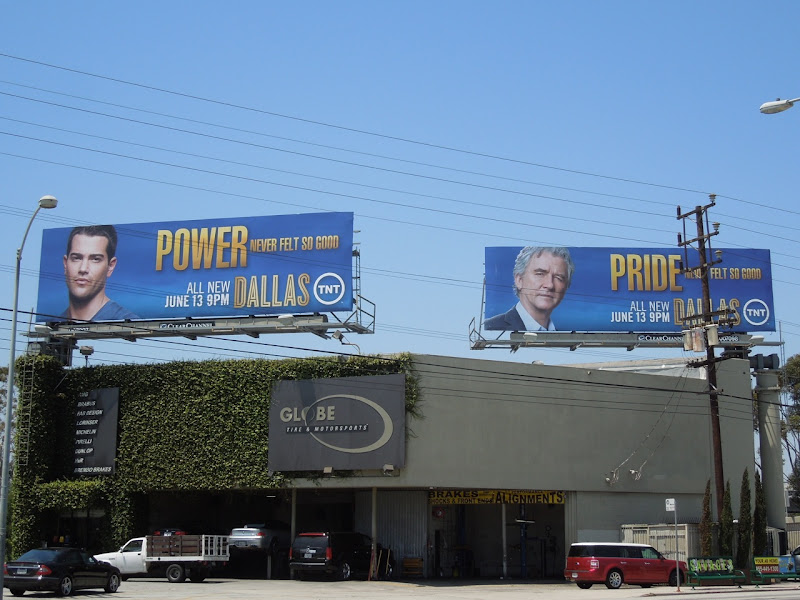 Dallas TV revival billboards