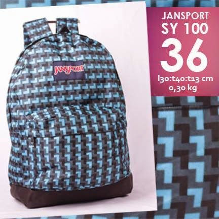 jual online tas jansport murah motif tartan