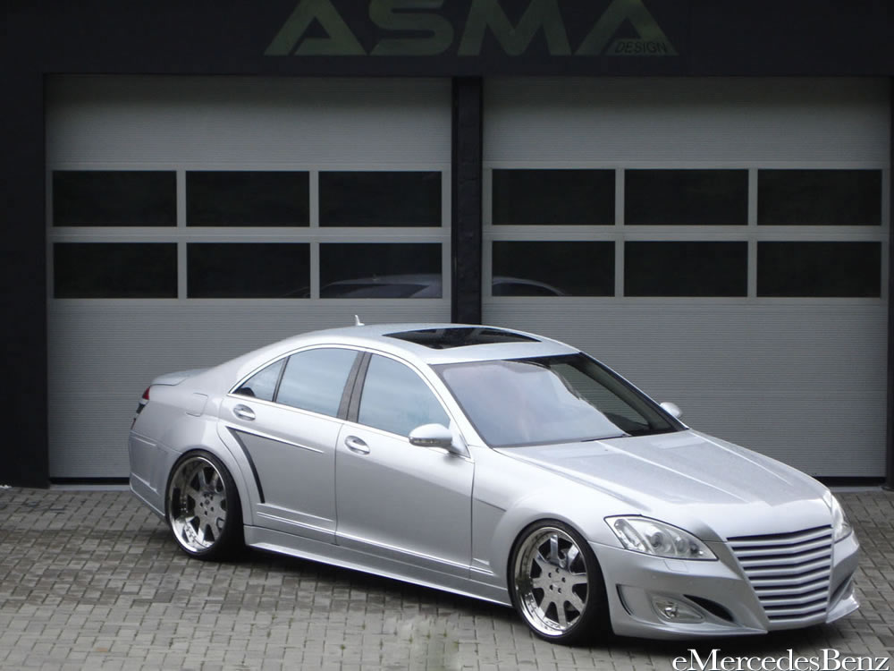 ASMA Design Mercedes-Benz S-Class Eagle ~ The Car Club