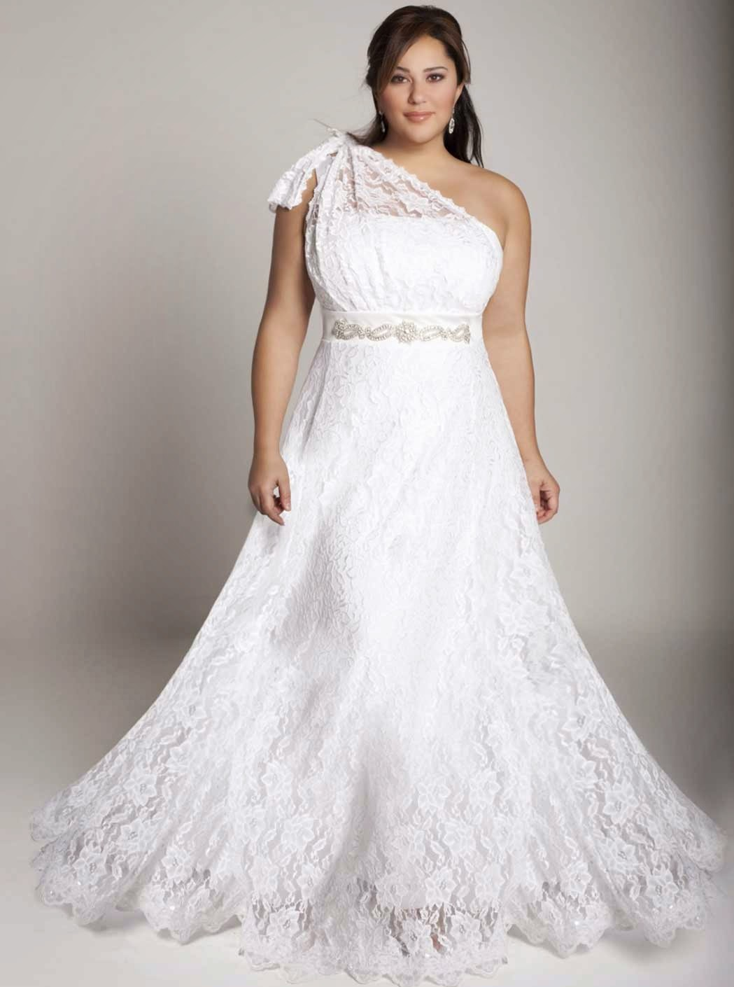 Casual Lace Wedding Dress