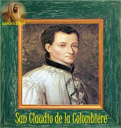 San Claudio de la Colombiere Escritos San Claudio de la Colombière