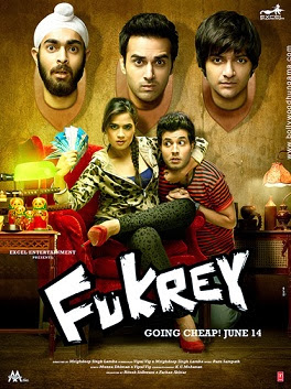 Fukrey (2013) 370MB DVDRip