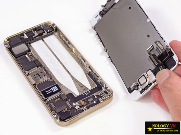 Màn hình của Iphone 5s cũ, đã qua sử dụng