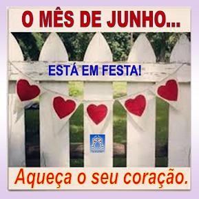 JUNHO COMEÇA A SE DESPEDIR