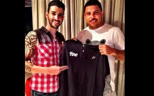 Gusttavo Lima fecha contrato com empresa de Ronaldo e Marcus Buaiz