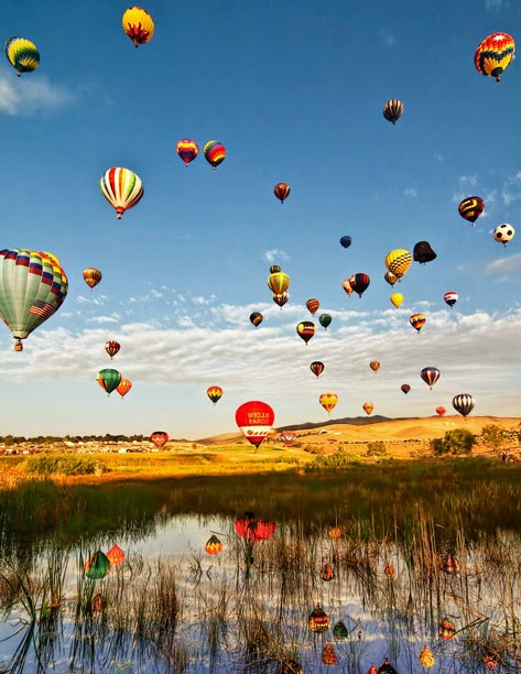 Great Reno Balloon Race this Weekend