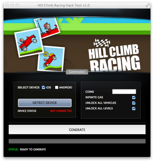 Download Hill Climb Racing hile for Android and iPhone