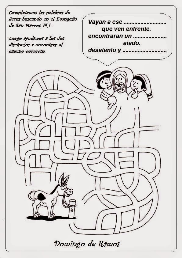 JESUS PASA X AQUI: DOMINGO DE RAMOS