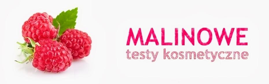 * Malinowe testy kosmetyczne *