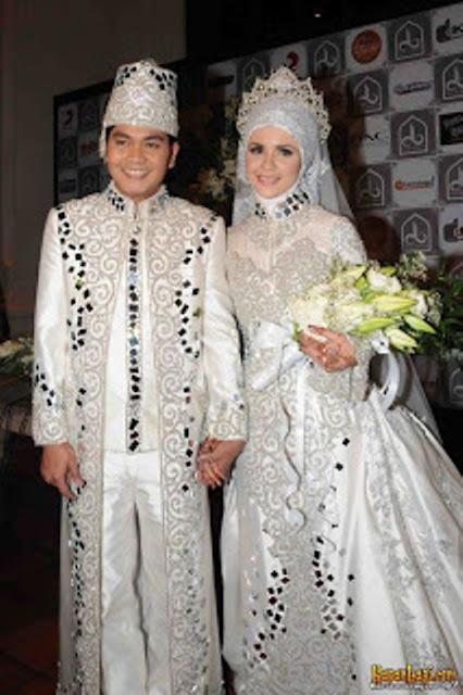 kebaya pernikahan modern