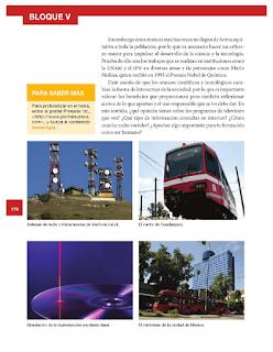 El impacto de las nuevas tecnologías: loa avances de la ciencia y los medios de comunicación - Historia Bloque 5to 2014-2015