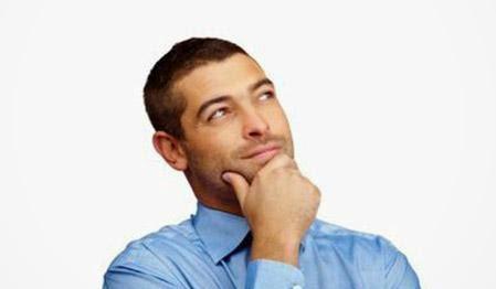 أسئلة لا يجيب الرجل عنها - رجل يفكر - man thinking guy