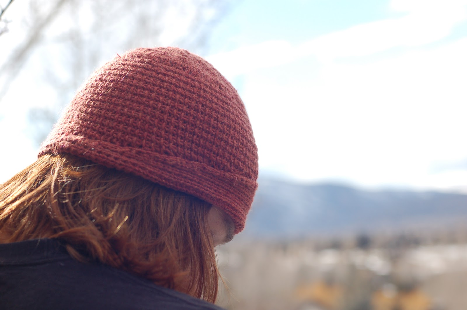 i made a hat... and you can, too! - a Friend to knit with