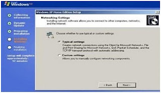 instalasi windows group network