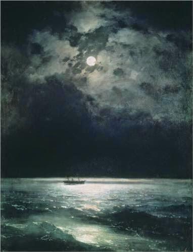 Ivan Aivazovsky Black Sea at Night