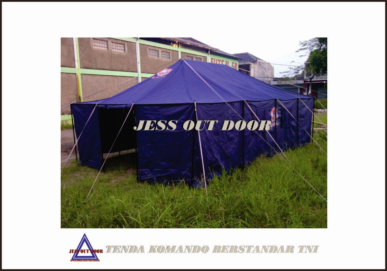 Pabrik, Tempat, Produksi, Tenda Komando standar TNI