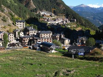 Vistas de Arinsal - Andorra
