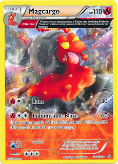 Magcargo Primal Clash Pokemon Card