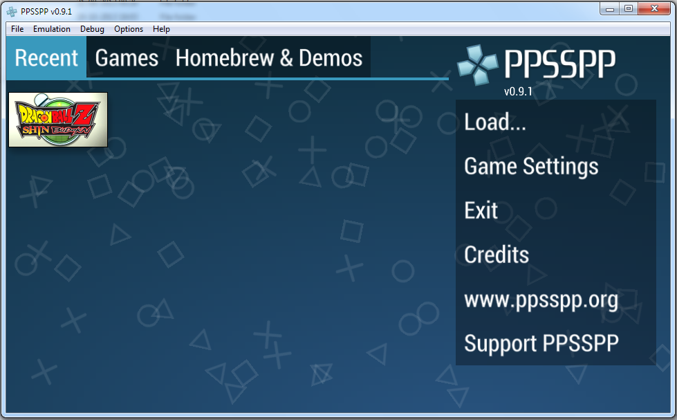 ppsspp games free  for windows