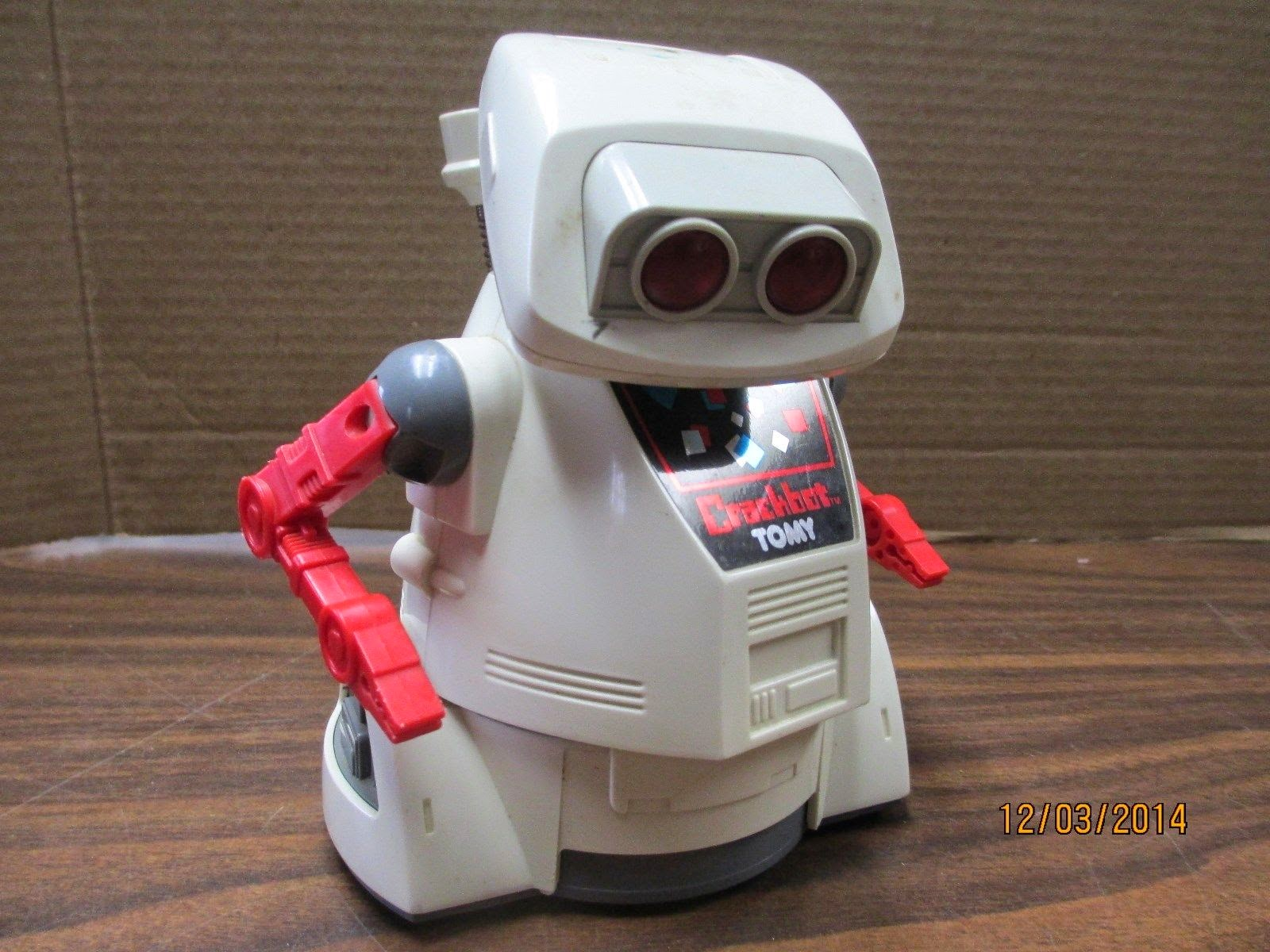 Vintage 1980's Crackbot From Tomy Robot