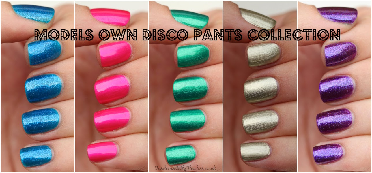 Models Own Disco Pants Collection Swatches and Review
