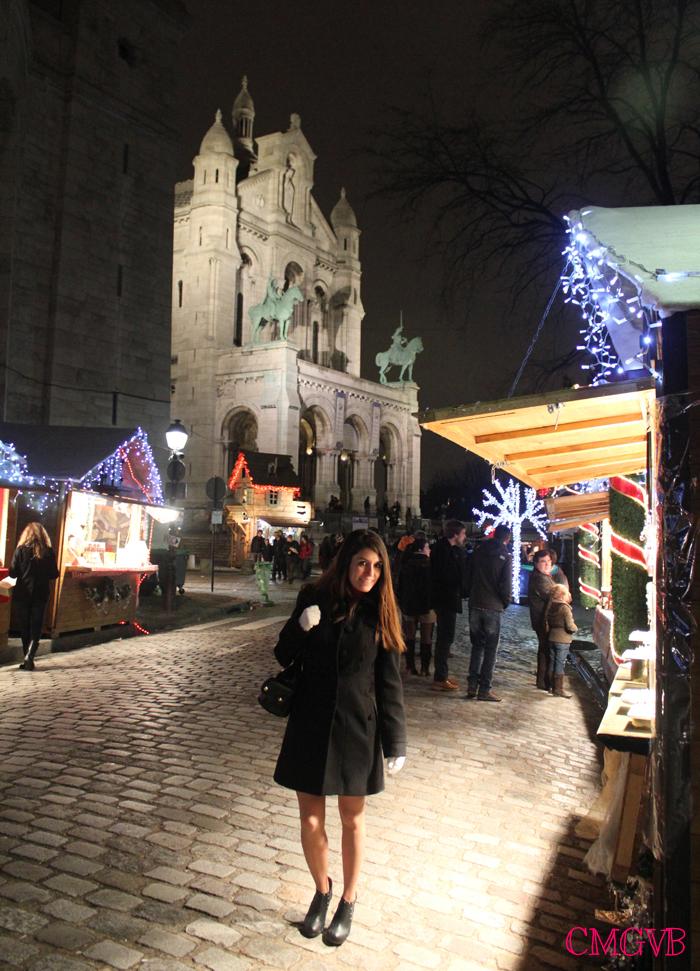diana dazzling, fashion blogger, fashion blog,  cmgvb, como me gusta vivir bien, dazzling, luxury, Christmas, Paris, navidad, Noel, Sacre Coeur, Village Montmartre