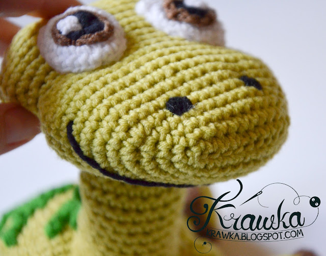 Krawka: Arlo the Apatosaurus from Pixar's The Good Dinosaur Pattern by Krawka