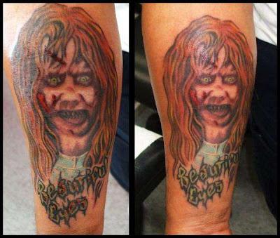 Tatuaje de la Película El Exorcista