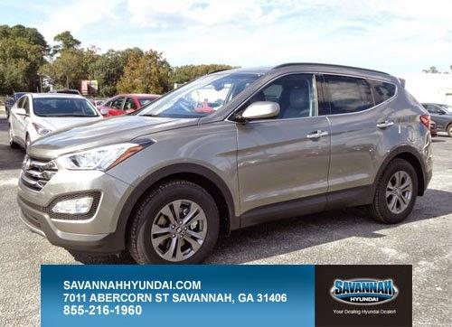 SUV, Hyundai, 2015 Hyundai Santa Fe Sport, Savannah, GA