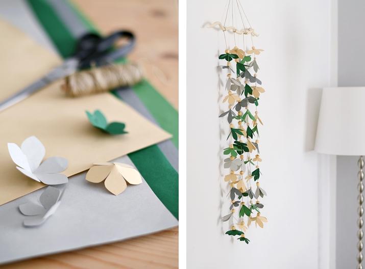 10 guirnaldas de papel express papelisimo - Papel decorado para manualidades ...