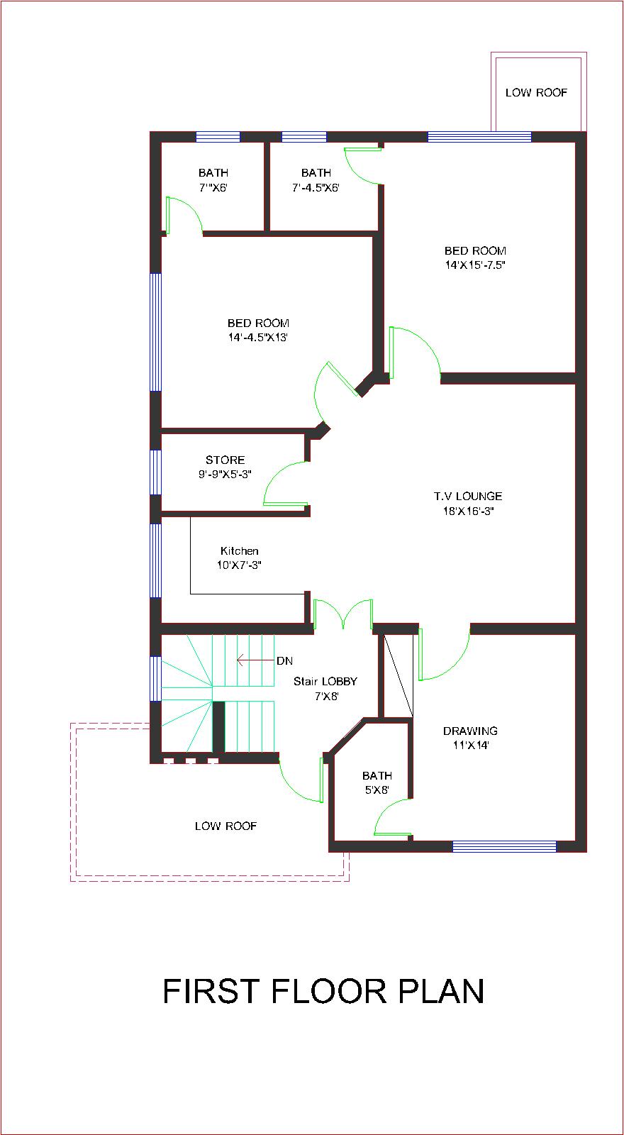 Pakistani home design plans