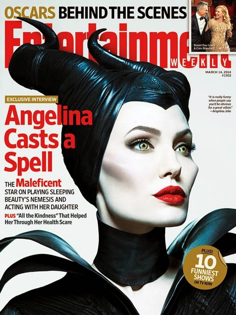 Angelina Jolie   Entertainment Weekly Magazine, March 2014