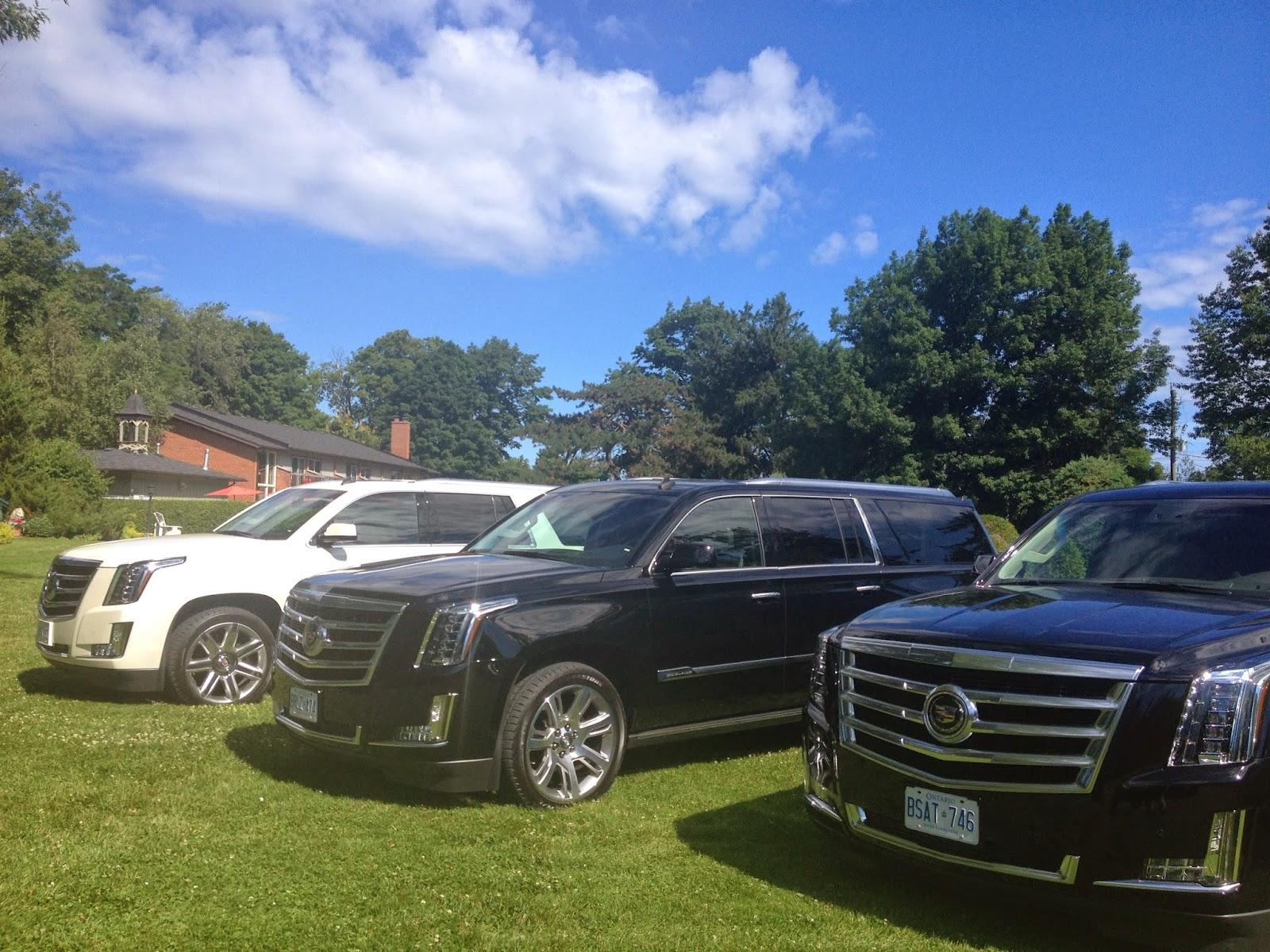The all new 2015 Cadillac Escalade