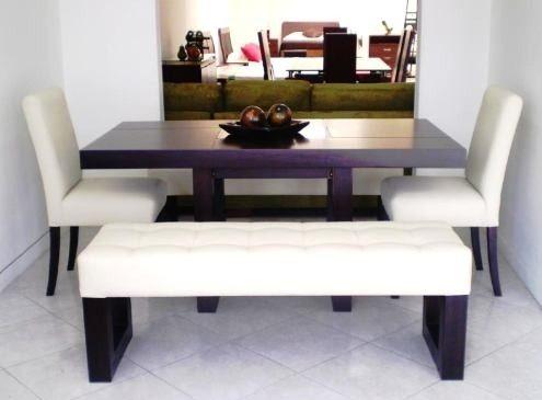 Muebles estilo y decoracion for Asientos para comedor