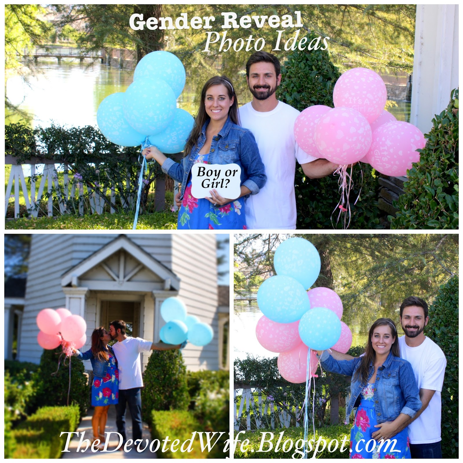 Eight28 Baby Gender Reveal Balloon Picture Ideas – Ideas for Announcing Baby Gender