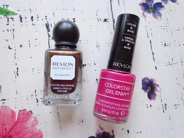 Revlon Gel Envy and Parfumerie Nail Enamel