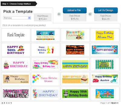 Browse Birthday Banner Templates