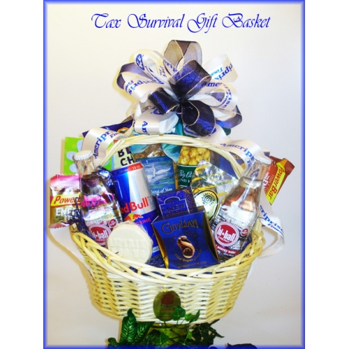 Accountant Gift Basket3