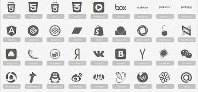 Casi 300 iconos para descargar Pictonic